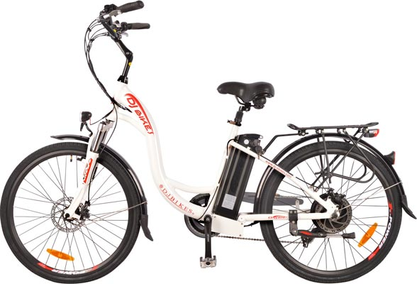 DJ City Bike 750W 48V 13Ah Step-Thru Power Electric Bicycle Review - Buyer's Guide