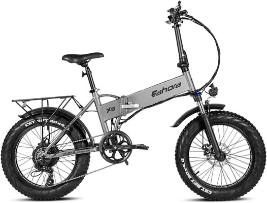 Eahora X5 Fat Tire Folding Electric Bike Review - Eahora Bikes Review