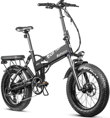Eahora X7 PRO Fat Tire Folding Electric Bike Review - Eahora Bikes Review