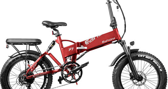 Eahora X7 PRO Fat Tire Folding Electric Bike