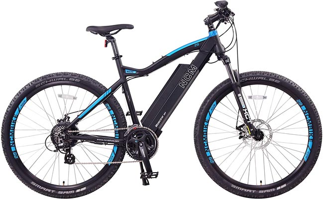 NCM Moscow Electric Mountain Bike Review - Buyer's Guide