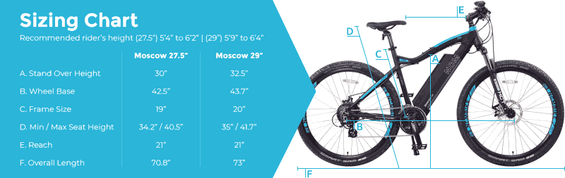 NCM Moscow Electric Mountain Bike