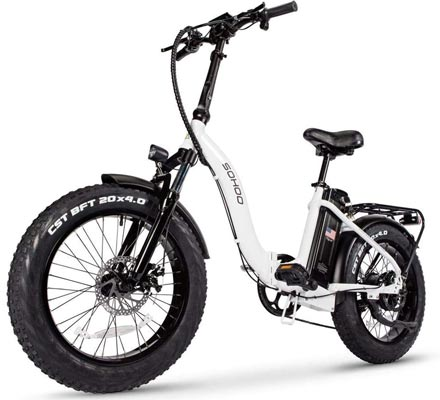 SOHOO 48V500W12AH Folding Fat Tire Electric Bicycle Review - Buyer's Guide