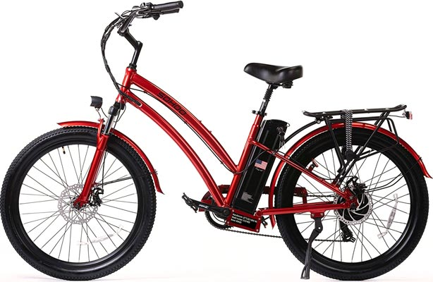 SOHOO 48V500W12Ah Step-Thru Cruiser Electric Bicycle Review - Buyer's Guide